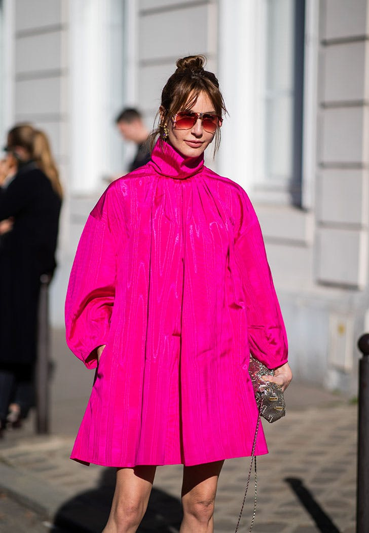 hot pink outfit trend