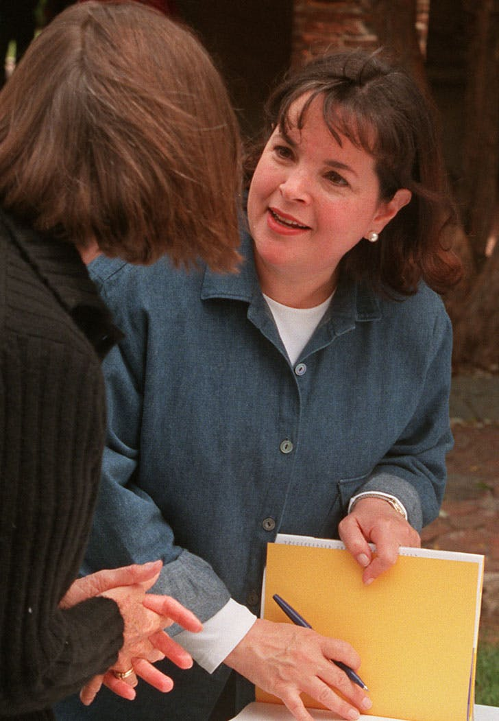 ina garten 1999 denim shirt