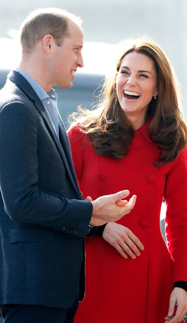 kate middleton laughing ireland tour