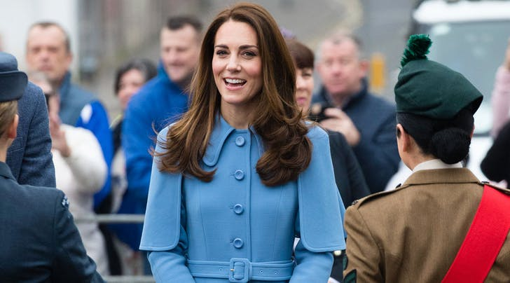 kate middleton braided a young girl s hair today in ireland purewow kate middleton braided a young girl s