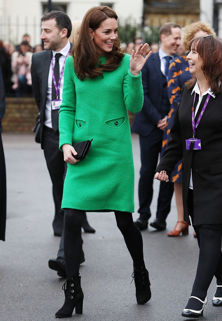 kate middleton outfit green dress