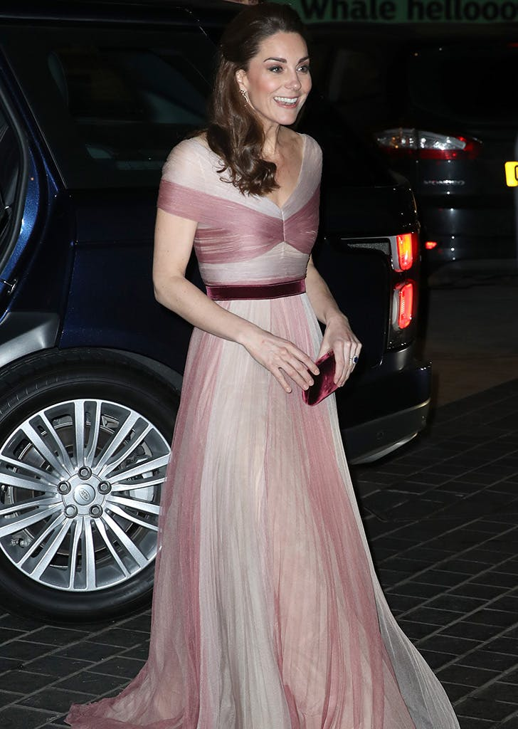 kate middleton 100 women in finance gala