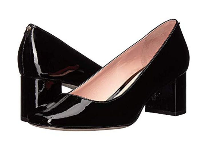 kate spade new york square toe heels