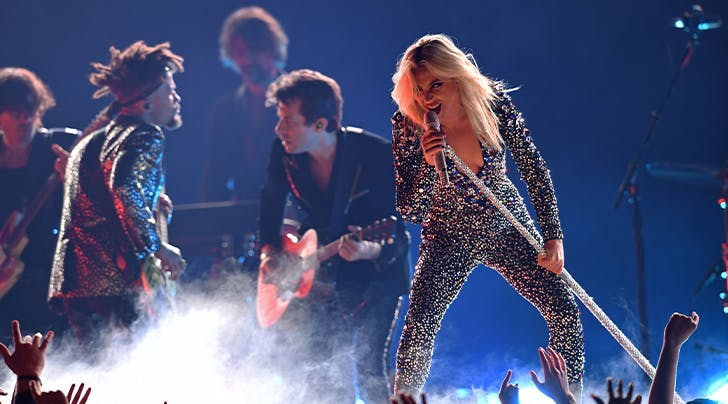 Lady Gaga Sang a Grammys Duet…with Herself