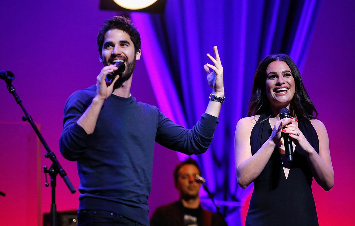 Calling All Brides: Lea Michele and Darren Criss Now Do Weddings, and You're Welcome