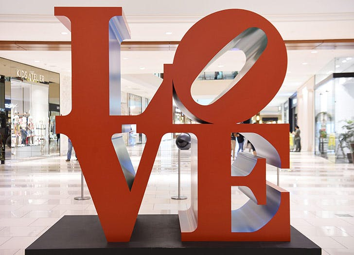love sculpture miami