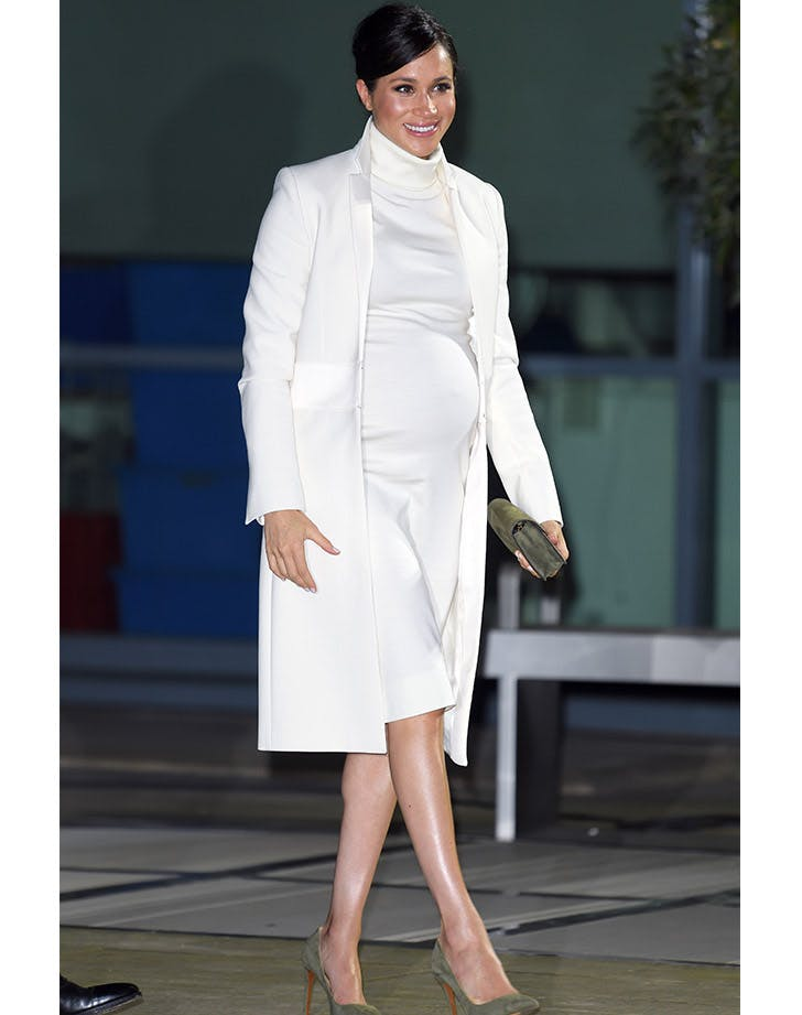 markle white outfit