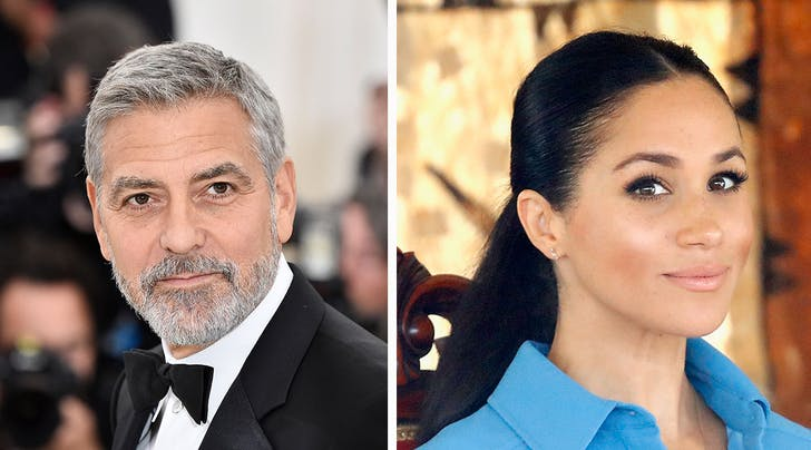 George Clooney Comes to Friend Meghan Markles Defense, and Compares Her to This Royal