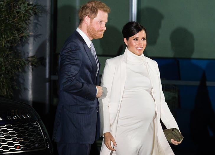 meghan markle prince harry white dress