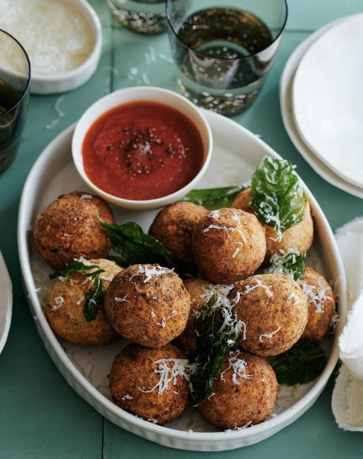 mozzerella stuffed chicken parm meatballs ground chicken recipes
