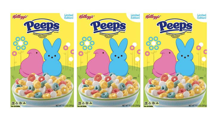 Peeps Flavored Cereal Exists…and It Reminds Us of Lucky Charms