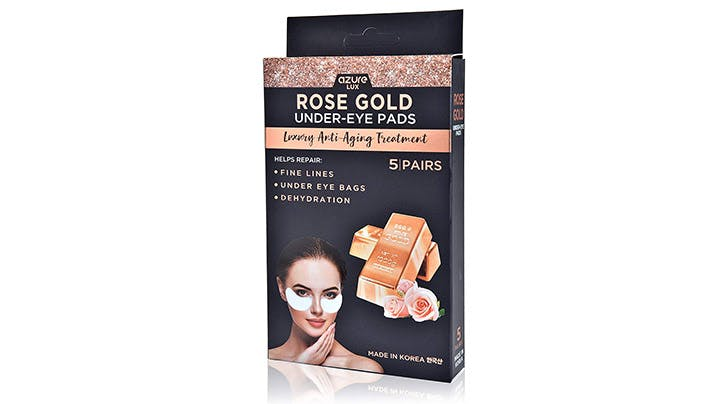 These $8 Rose-Gold Under-Eye Masks Made My Morning Puffiness Disappear