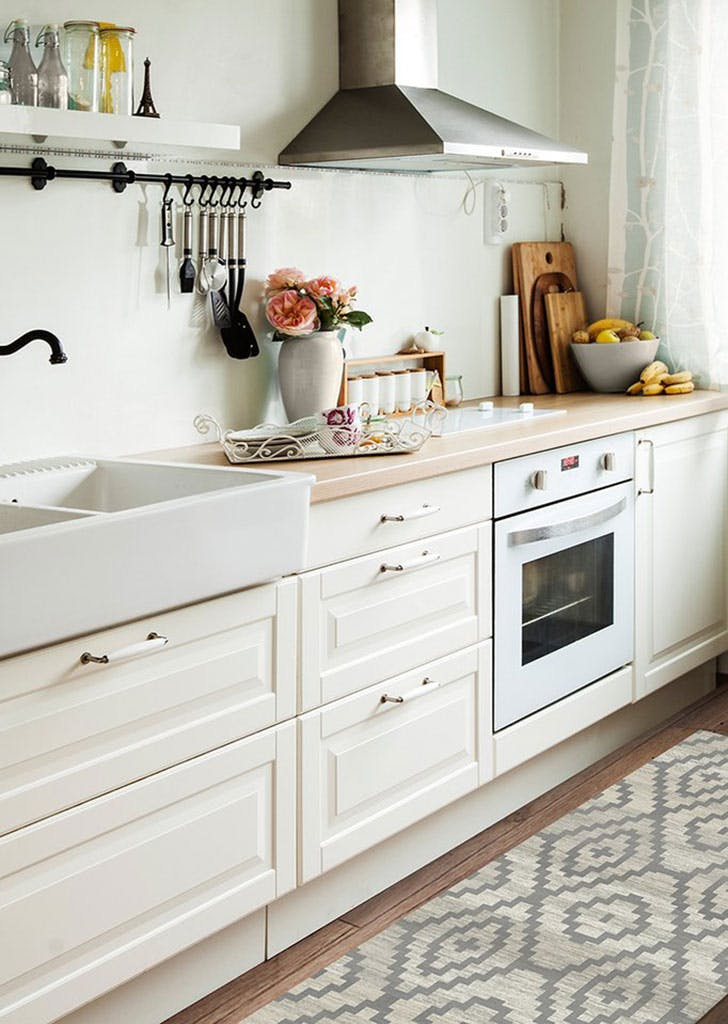 The Best Kind Of Rug For Kitchens Purewow