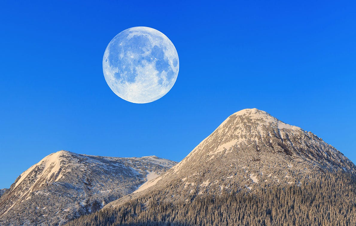 A Super Snow Moon Is Almost Here, so Set Your Alarms