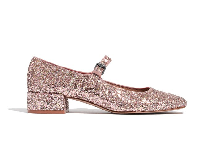 sparkling mary janes