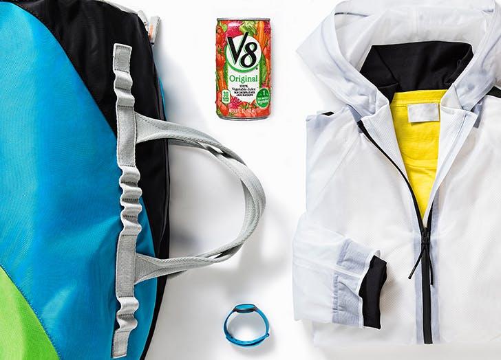 v8 gym bag