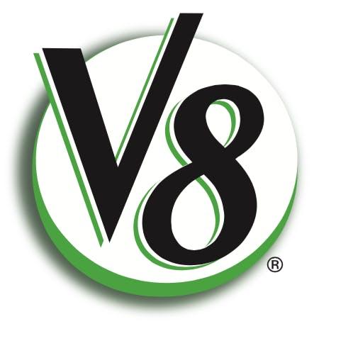 v8 logo large