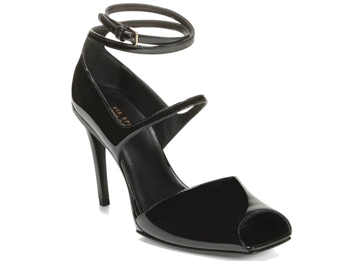 via spiga square toe heels