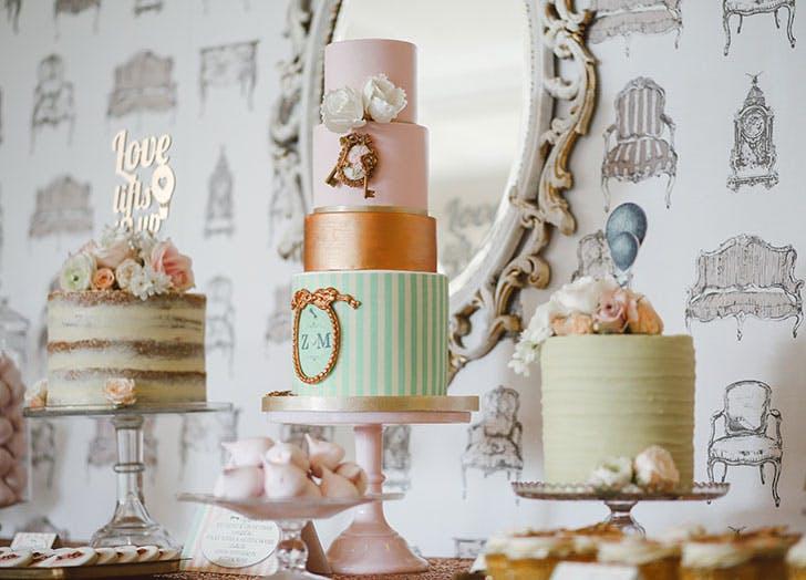 wedding dessertbar