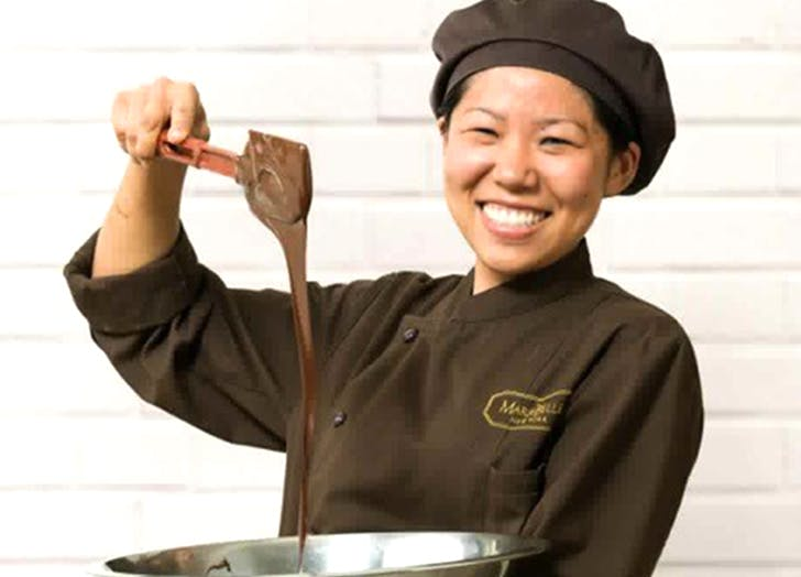 Chef Chika Hanyu Mariebelle chocolate