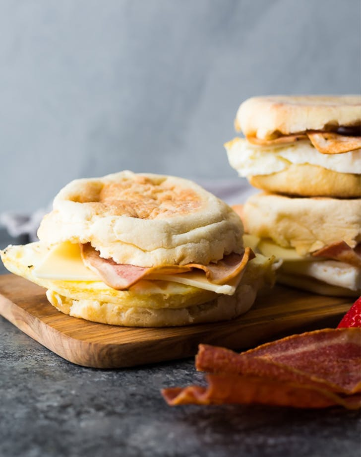 Copycat Starbucks Egg White Breakfast Sandwich