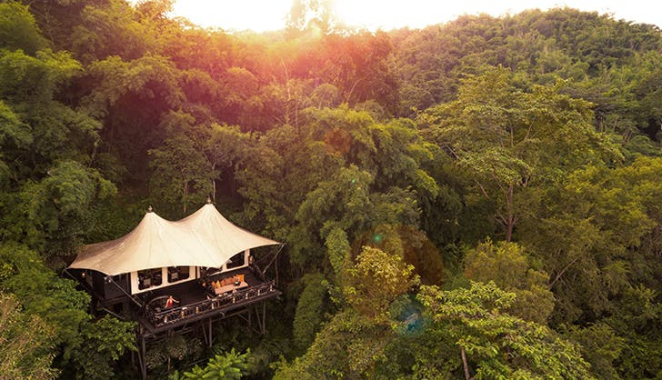 Four Seasons Tented Camp Golden Triangle in Chiang Rai Thailand