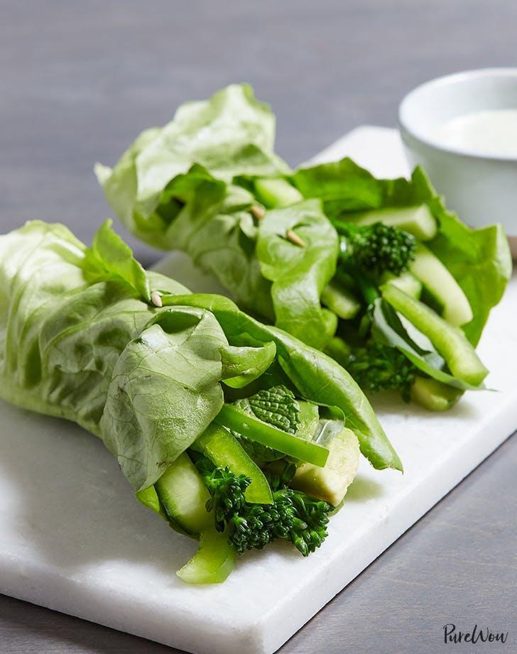 Green Goddess Wraps Recipe