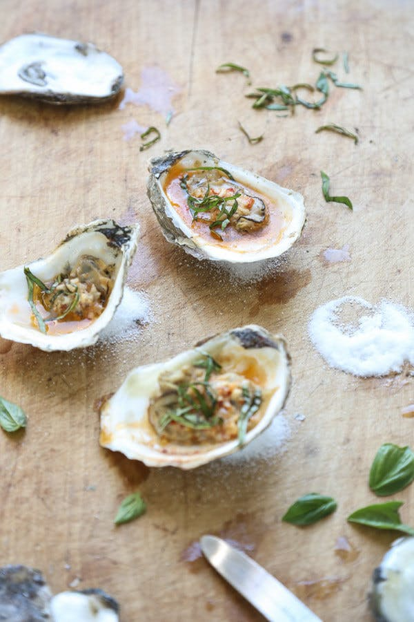 Grilled Oysters Game of Thrones recipe