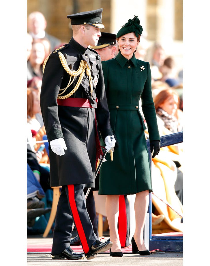 Kate Middleton St. Patrick s Day Outfit