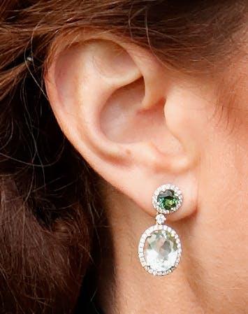 Kate Middleton St. Patricks Day earrings