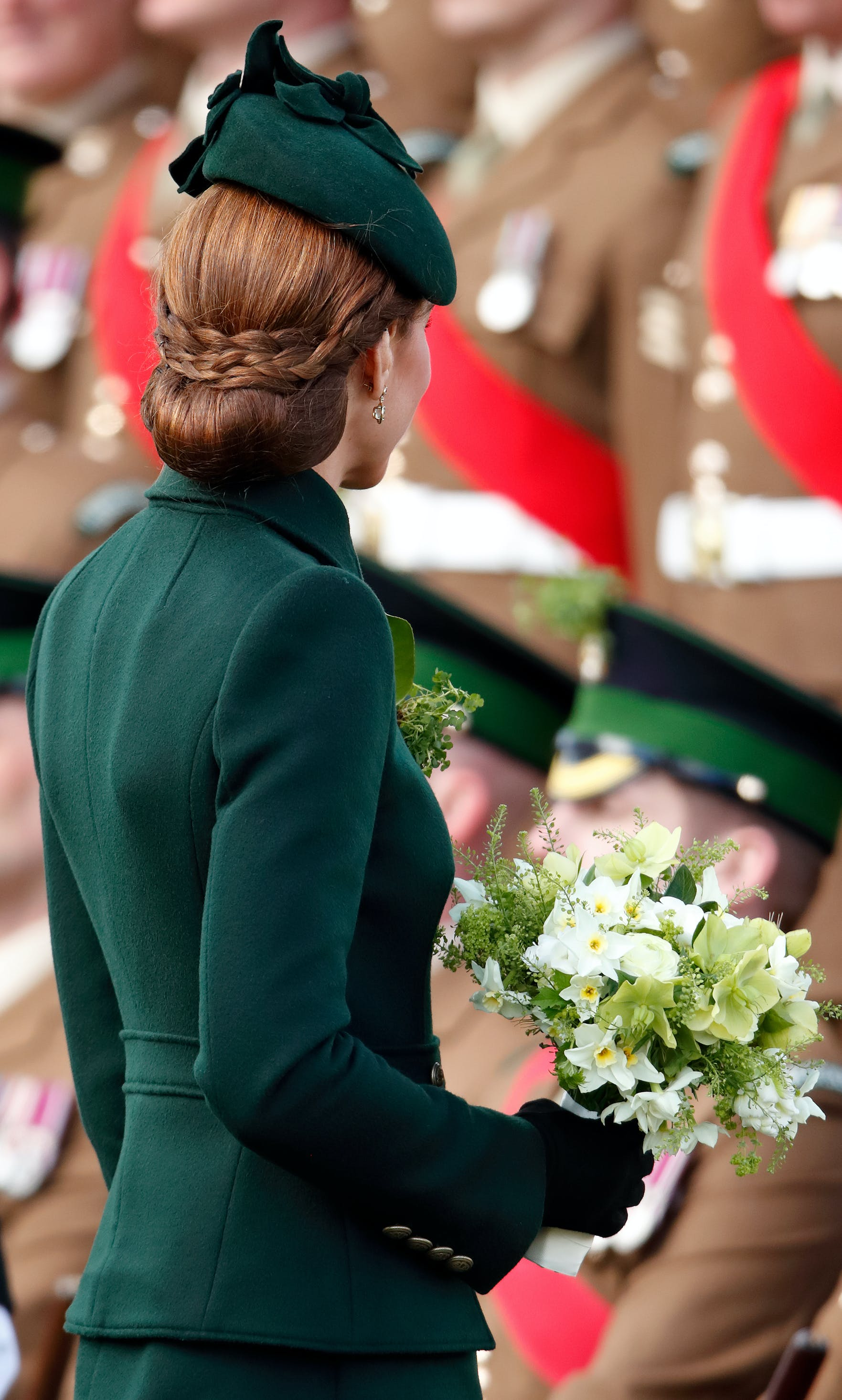 Kate Middleton's Braided Updo Was Definitely the Pot of Gold This St. Patrick's Day