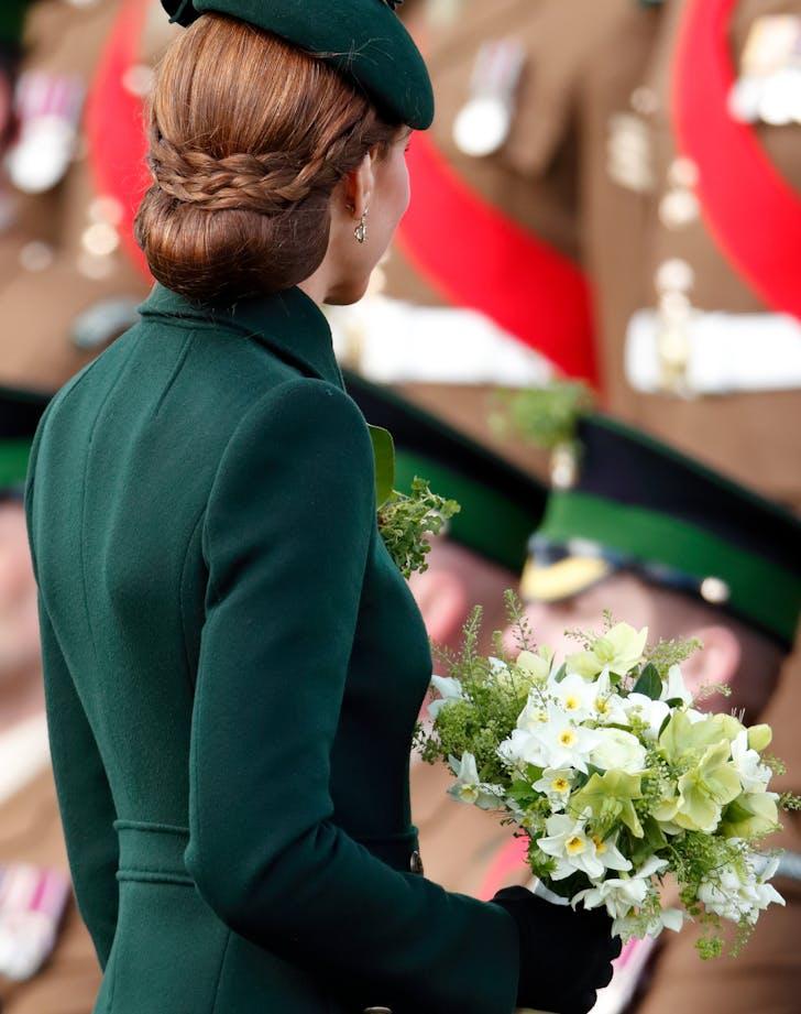 Kate Middleton braided updo