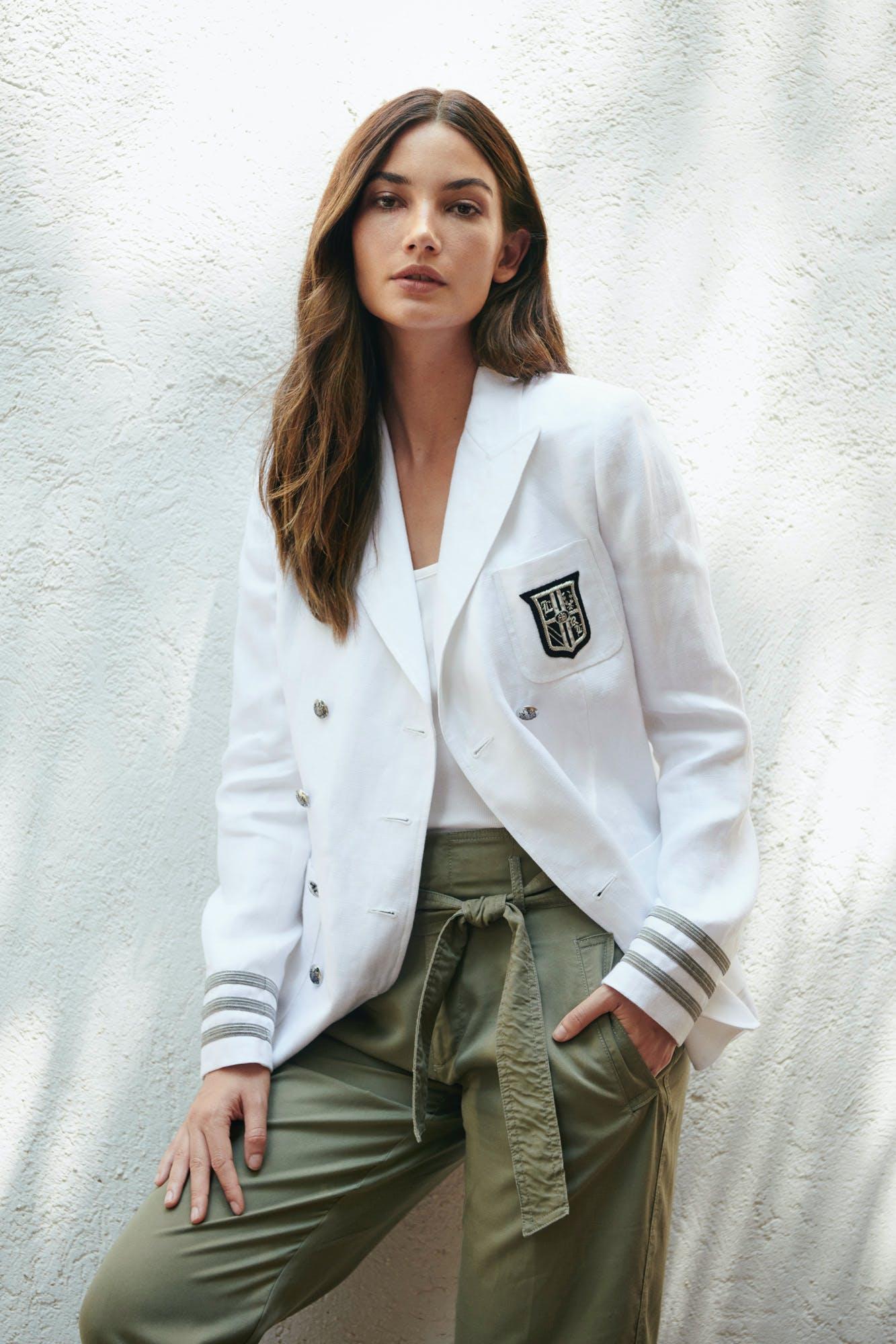 Lauren Ralph Lauren White Blazer Hero Image