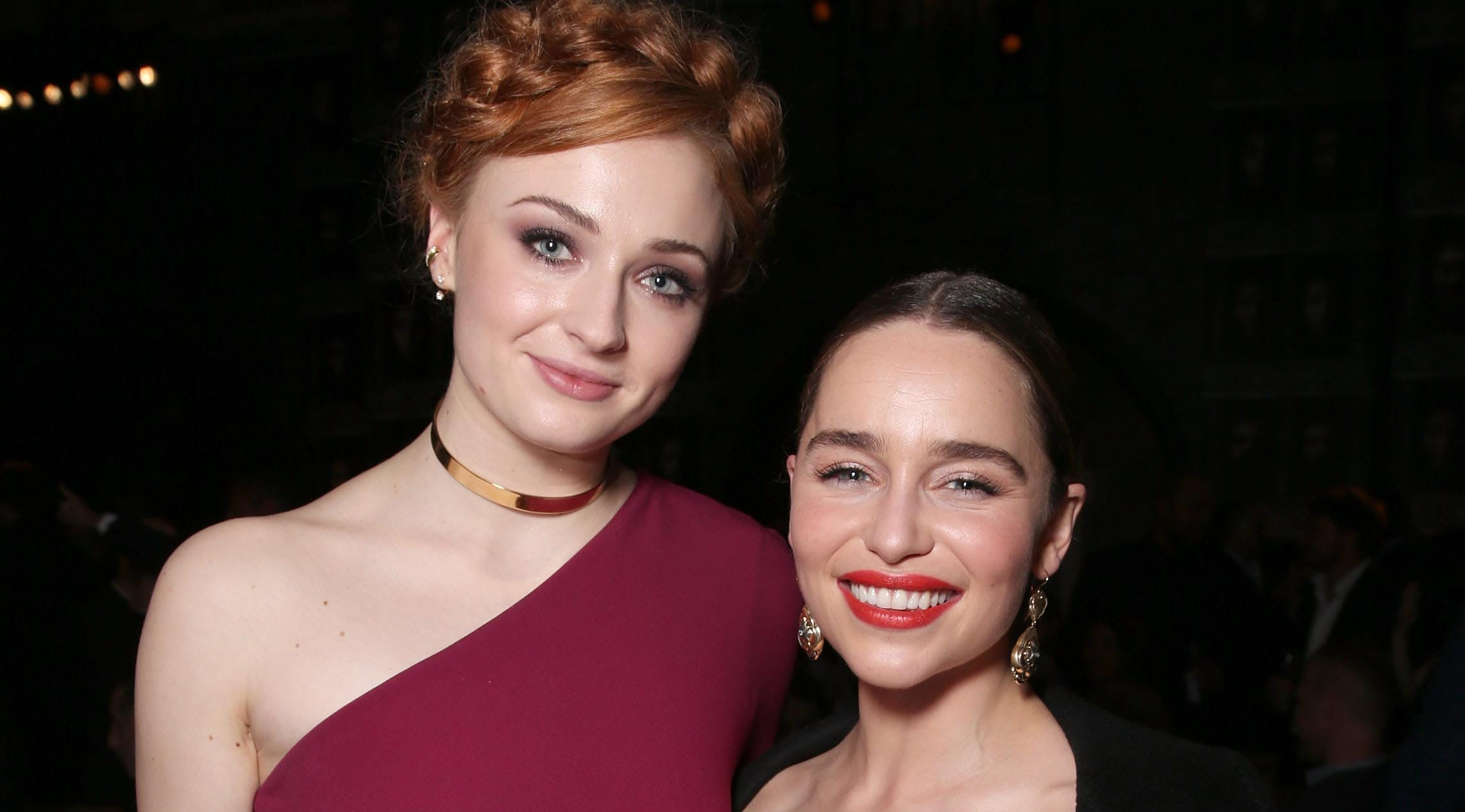 Emilia Clarke Reveals What It Was Really Like Working with Sophie Turner on 'Game of Thrones'