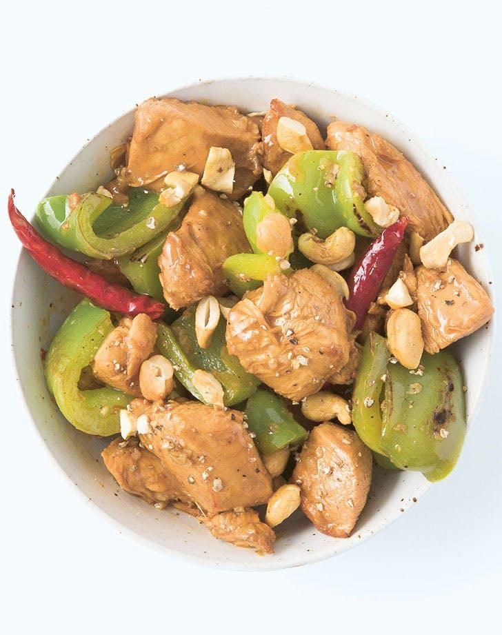 Stir Fry Kung Pao Chicken recipe lunch ideas