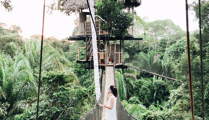 Treehouse Lodge in Iquitos Peru