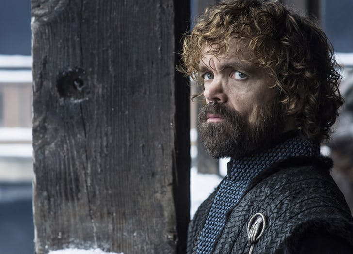 Tyrion Lannister Winterfell season 8 game of thrones