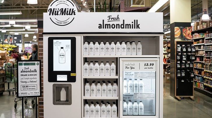 Holy Cow, You'll Soon Be Able to Make Your Own Almond Milk at Whole Foods