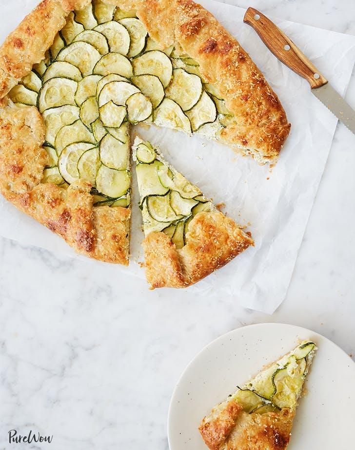 Zucchini Ricotta Galette Recipe