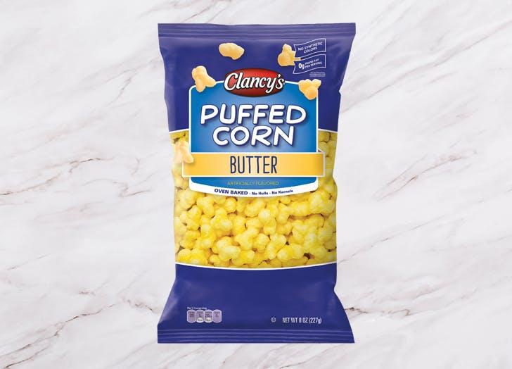 aldi clacnys butter puffed corn