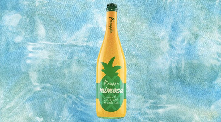 Aldi Is Adding Pineapple Mimosas to Its Cocktail Lineup—and They're Only $9