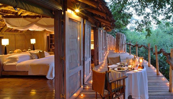andBeyond Lake Manyara Tree Lodge in Lake Manyara National Park Tanzania