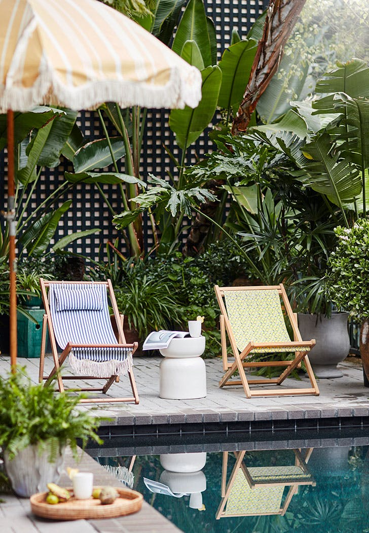 Anthropologie's New Outdoor Collection Is Here, and OMG, the Elephant Cocktail Cart Is Everything