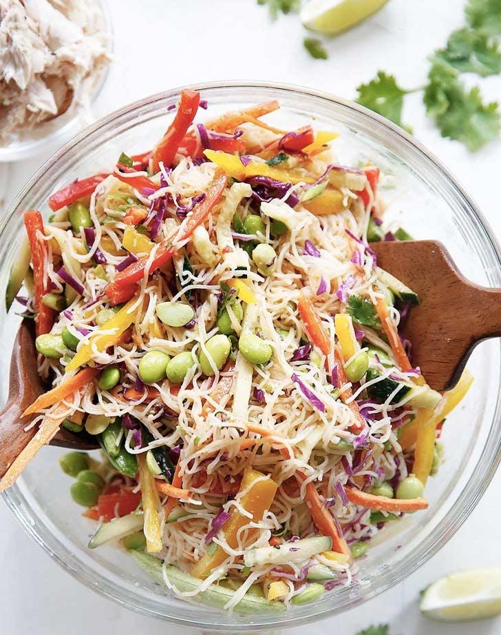 asian noodle salad cold dinner recipes