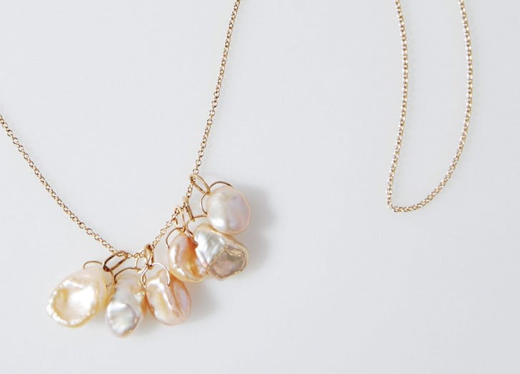baroque pearl charms