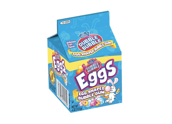 bubble gum eggs easter candy