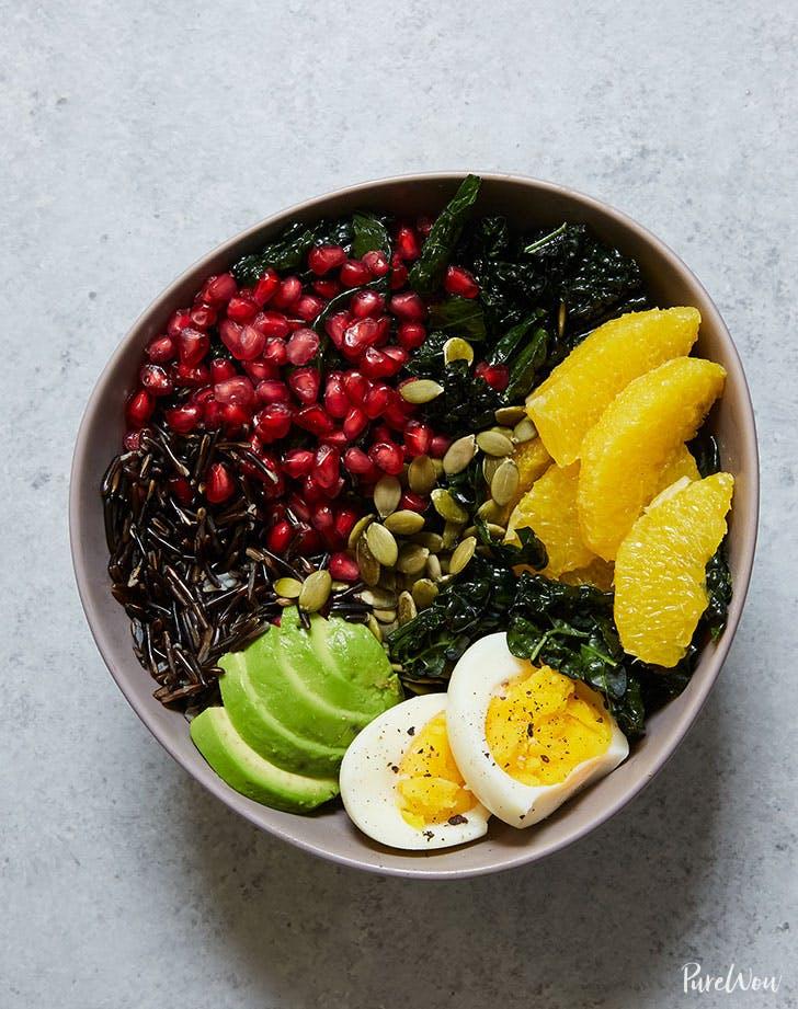 buddha bowl kale avocado orange wild recie recipe lunch ideas