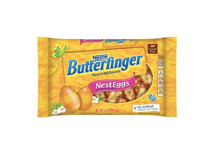 butterfinger nest eggs easter candy