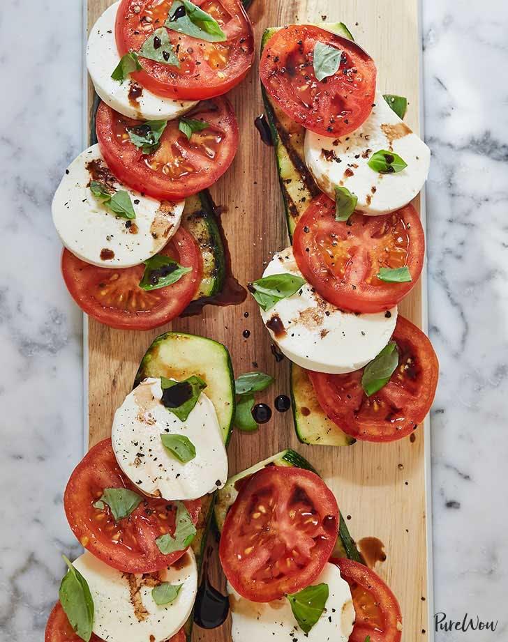 caprese salad recipe lunch ideas