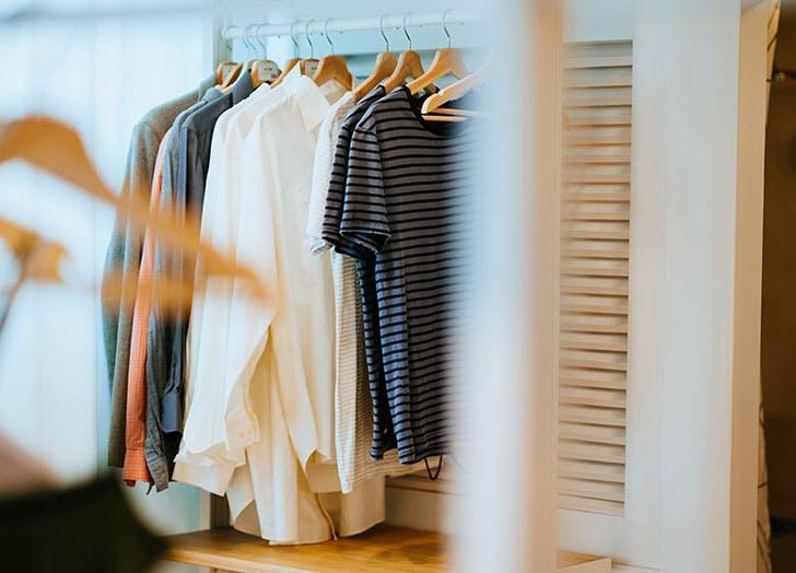 closet organization bright